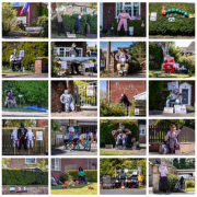 Scarecrow Competition Montage with 30 individual images