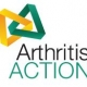 Arthritis Action logo interlinked yellow and green triangles